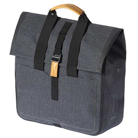 Basil Urban Dry Bicycle Shopper 25l, charcoal melee